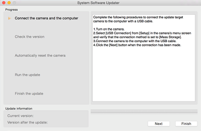 Nástroj System Software Updater
