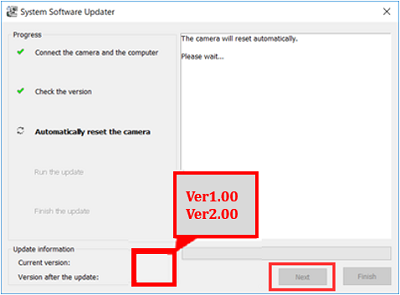 Automatically Reset the Camera
