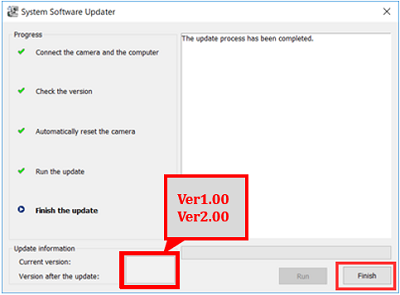 Click Finish
