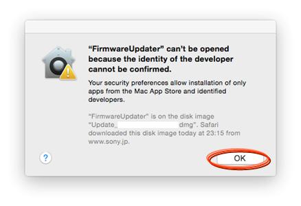 Firmware update Ver 1 10 for DSC-RX100 (Mac) | Sony UK