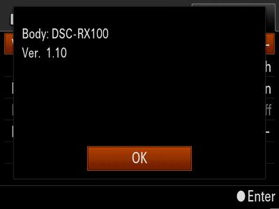 Firmware update Ver 1 10 for DSC-RX100 (Windows) | Sony UK