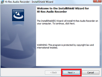 Hi-res audio recorder (windows) | sony uk.