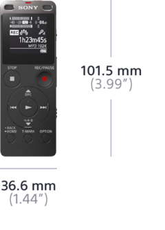 Picture of UX560 Digital Voice Recorder UX Series