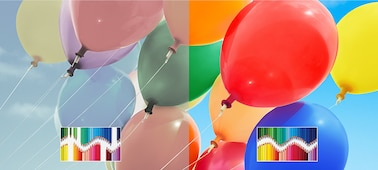 TRILUMINOS colour balloons
