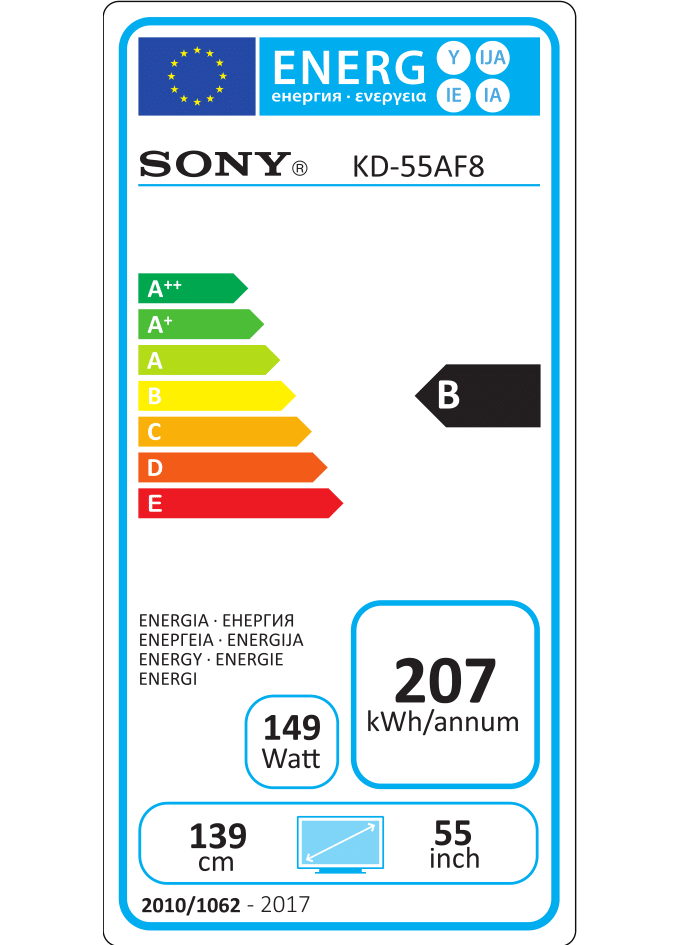 Sony Af8 Oled 4k Ultra Hd High Dynamic Range Hdr Smart Tv Android Tv