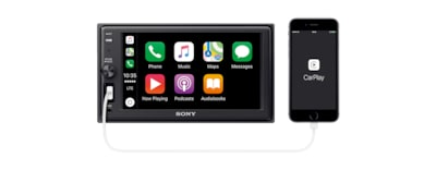 Images of 15.7 cm (6.2 inch) Apple CarPlay Media Receiver with BLUETOOTH®