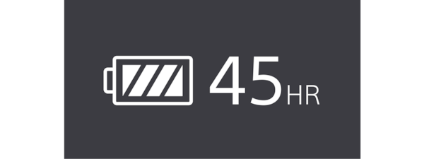 45hr battery icon