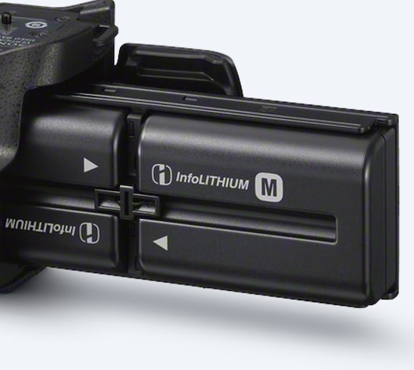 Two  InfoLITHIUM batteries