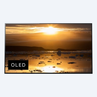 A1 OLED TV with 4K ultra HD and High Dynamic Range (HDR)