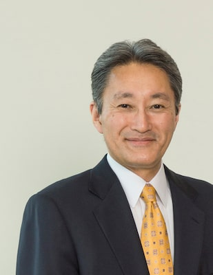 Image of the Sony's CEO Kazuo Hirai