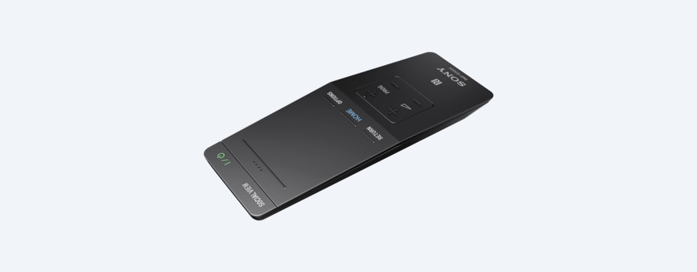 Images of One-Flick touchpad TV remote