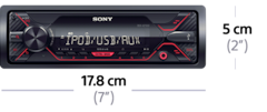 Picture of DSX-A210UI Media Receiver with USB