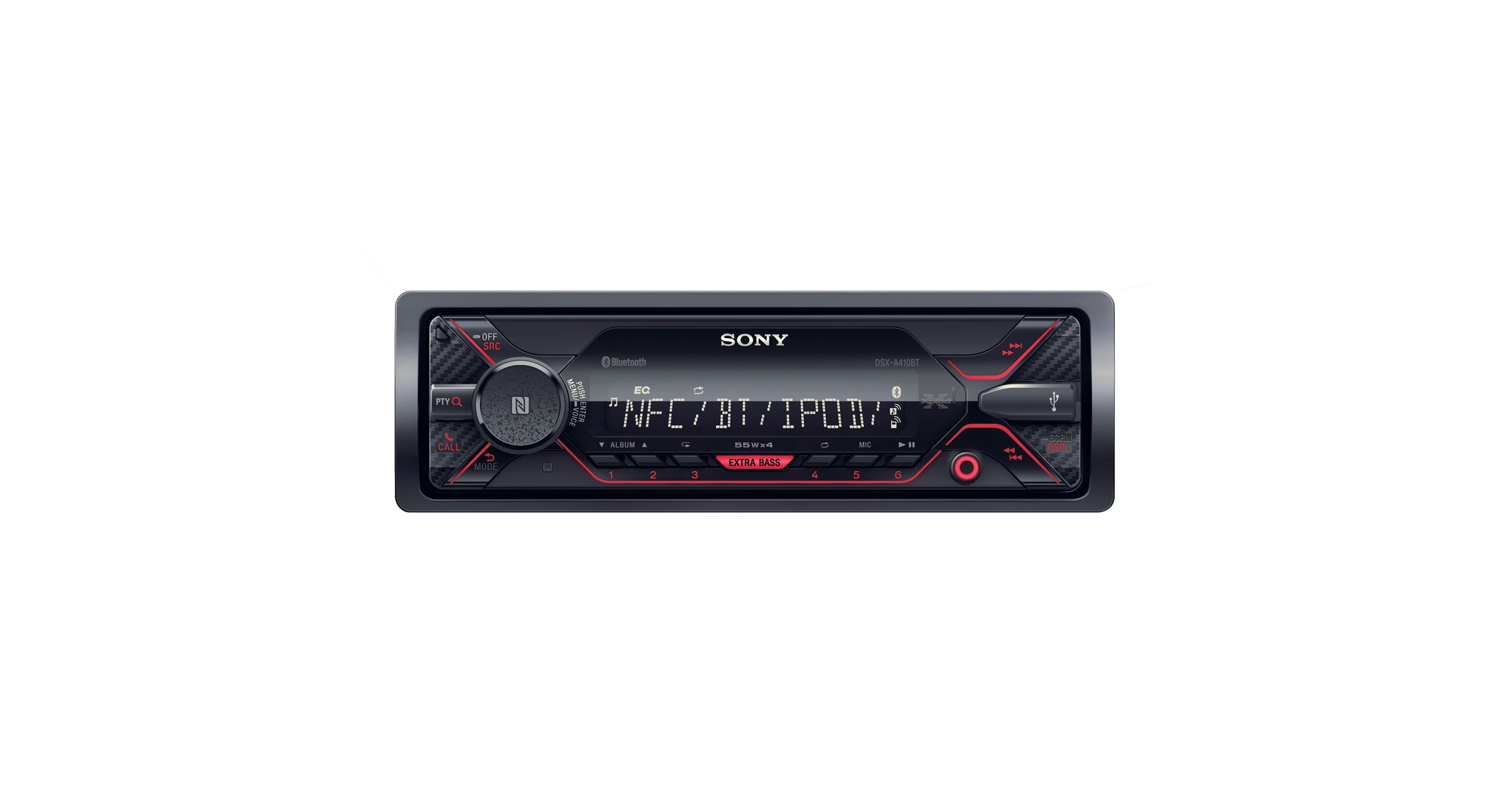 media receiver with bluetooth® technology  dsx-a410bt