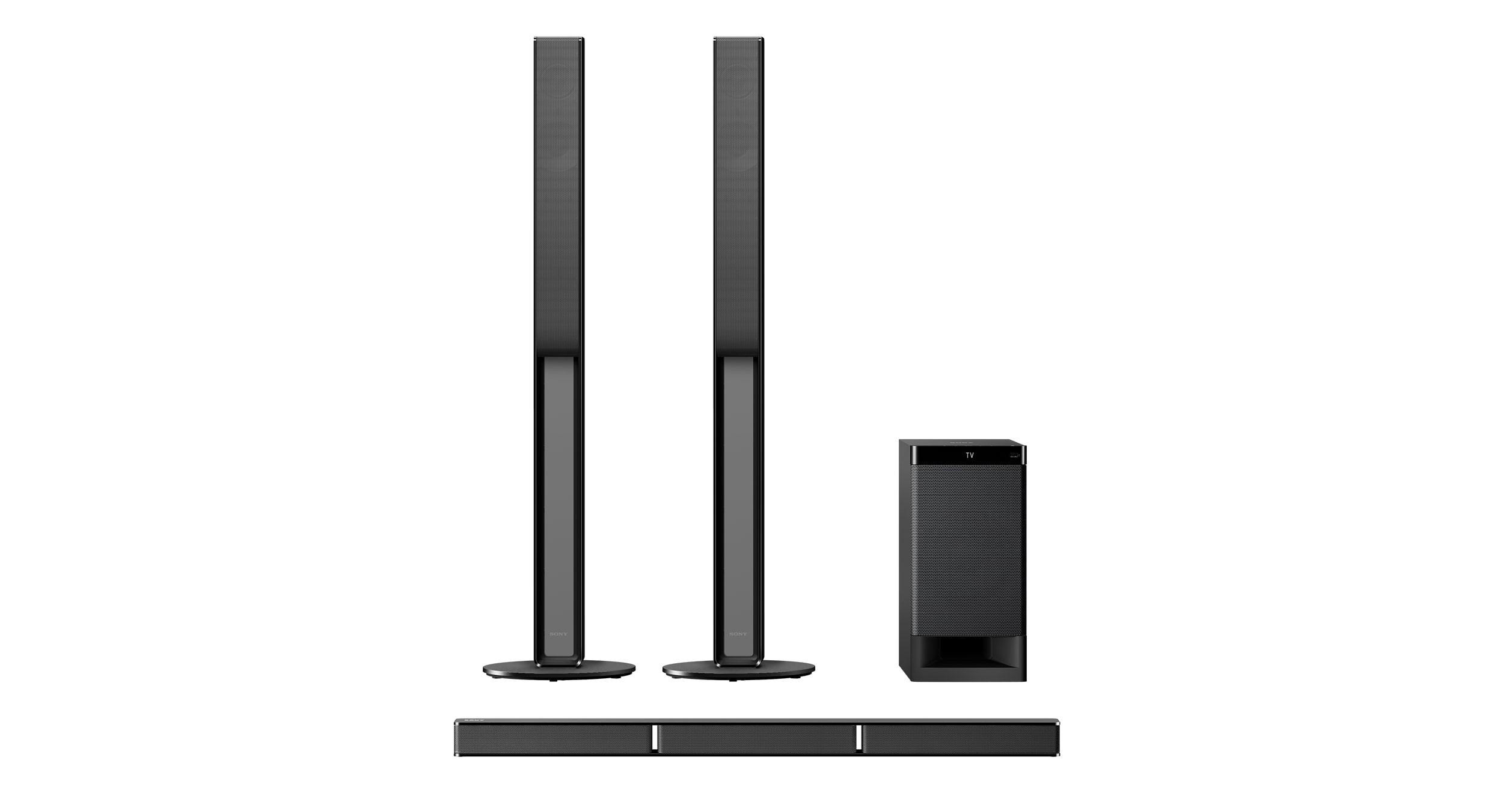 sony sound bar with satellite speakers