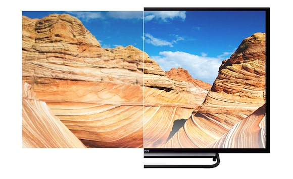 Lifelike pictures on 81 cm (32-inch) TV from Sony