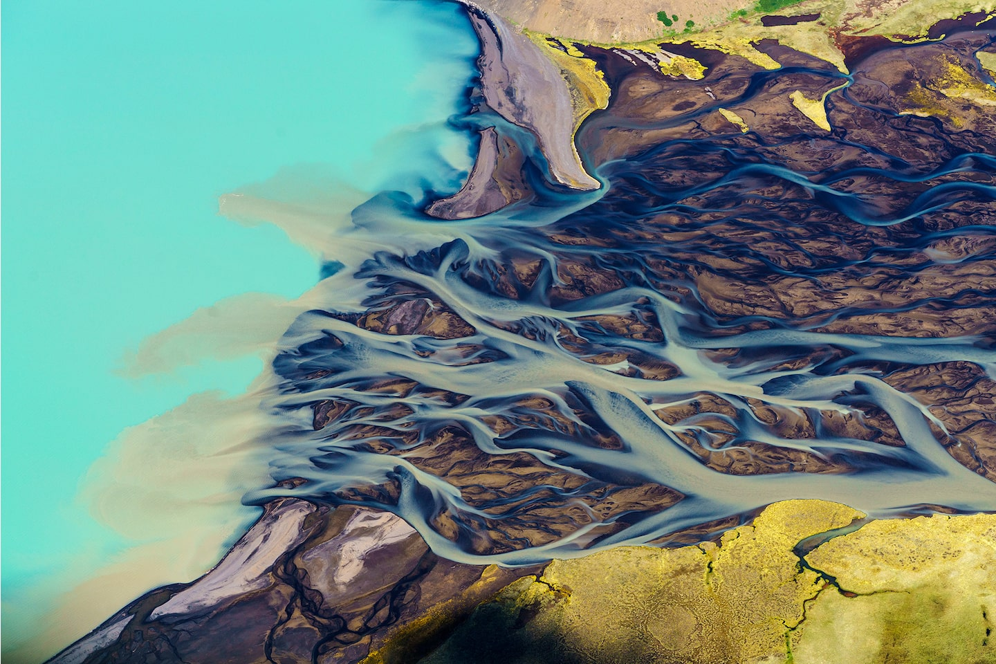 pall stefansson sony alpha 7RII icelandic landscape river delta