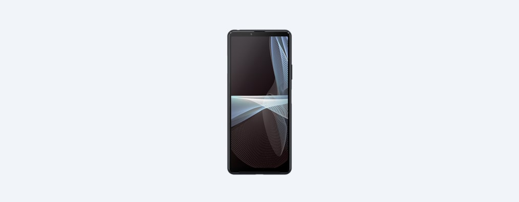 Xperia 10 III in black, front shot