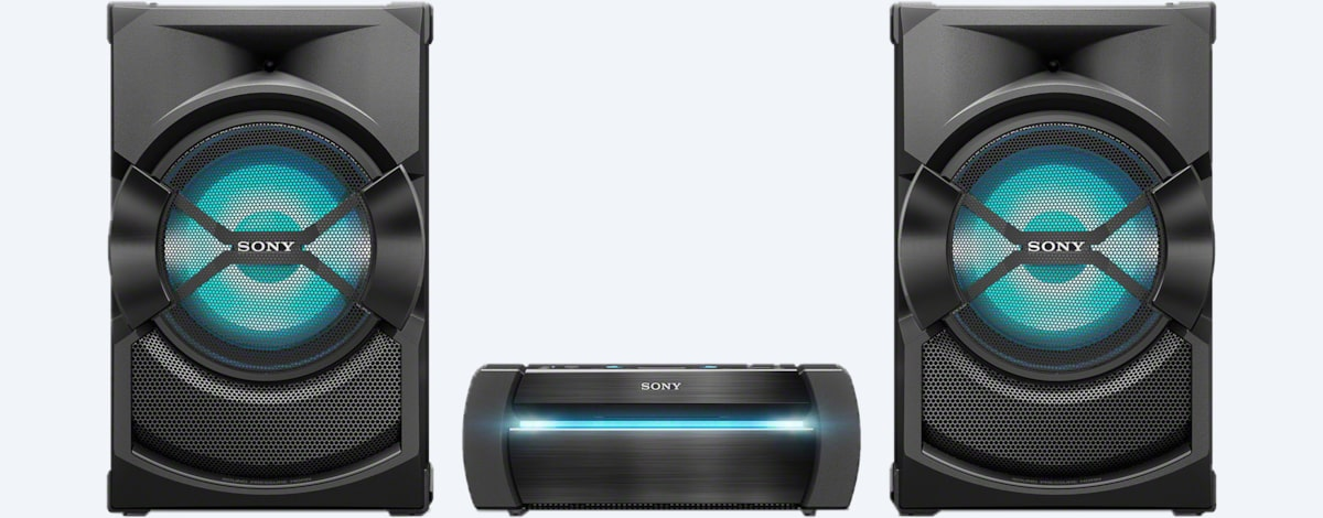 sony powered speakers