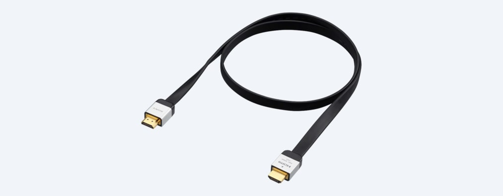 Images of 2-metre Flat High Speed HDMI Cable with Ethernet