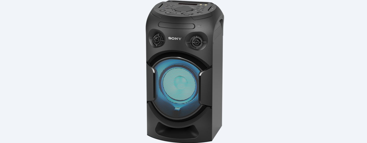 Sony V21D High Power Audio System with BLUETOOTH® Technology