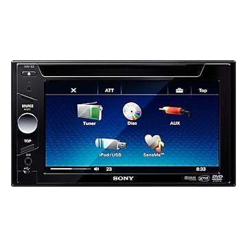 Sony xav-63 + sony xs-gs1720 stereo and speaker combo package.
