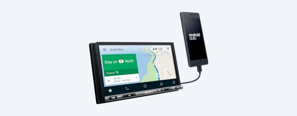 Sony 17 6 cm (6 95 inch) Apple CarPlay/Android Auto™ DAB Receiver