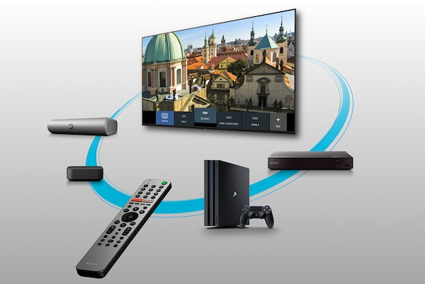 Easy control of multiple devices with smart remote