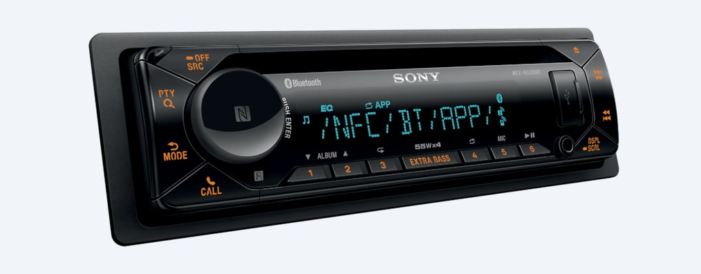 Images of CD Receiver with BLUETOOTH® Technology