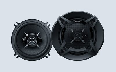 Image of Sony's powerful, bass-conscious speaker