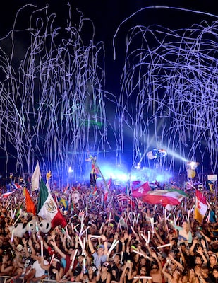 Image of the TomorrowWorld music festival