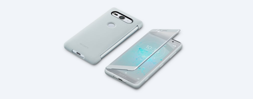Images of Style Cover Stand SCSH50 for Xperia XZ2 Compact