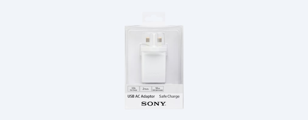 Images of USB AC Adaptor with two ports