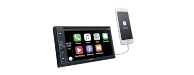 "Images of 16.3cm (6.4"") DAB DVD BLUETOOTH® Receiver"
