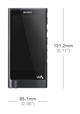 Picture of ZX2 Walkman® ZX Series
