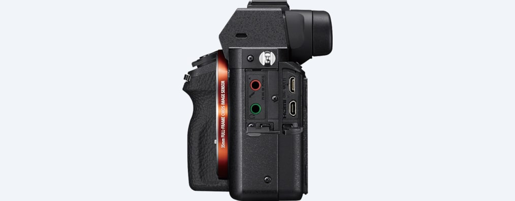 Full-frame camera with 5-axis image stabilization | a7 II | Sony UK