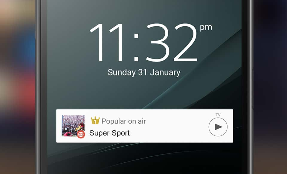sony tv sideview app download