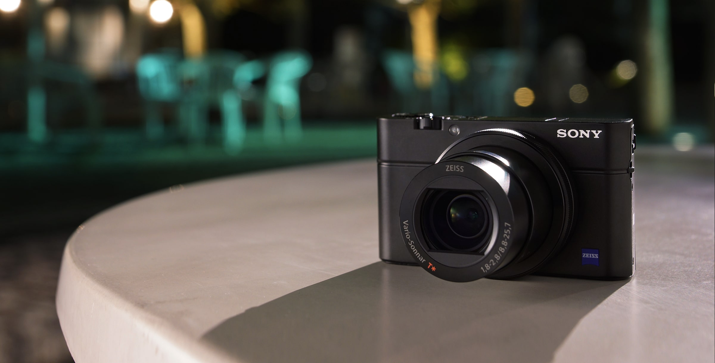 RX100 III Advanced Camera with 1.0-type sensor in action