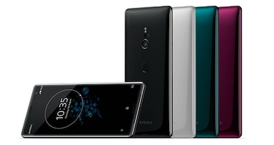 xperia XZ3 group shot