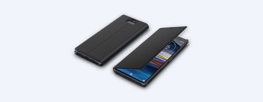 Images of Xperia 10 Plus Style Cover Stand SCSI20 | A cover that stands up