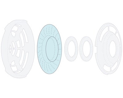 40mm liquid crystal diaphragm