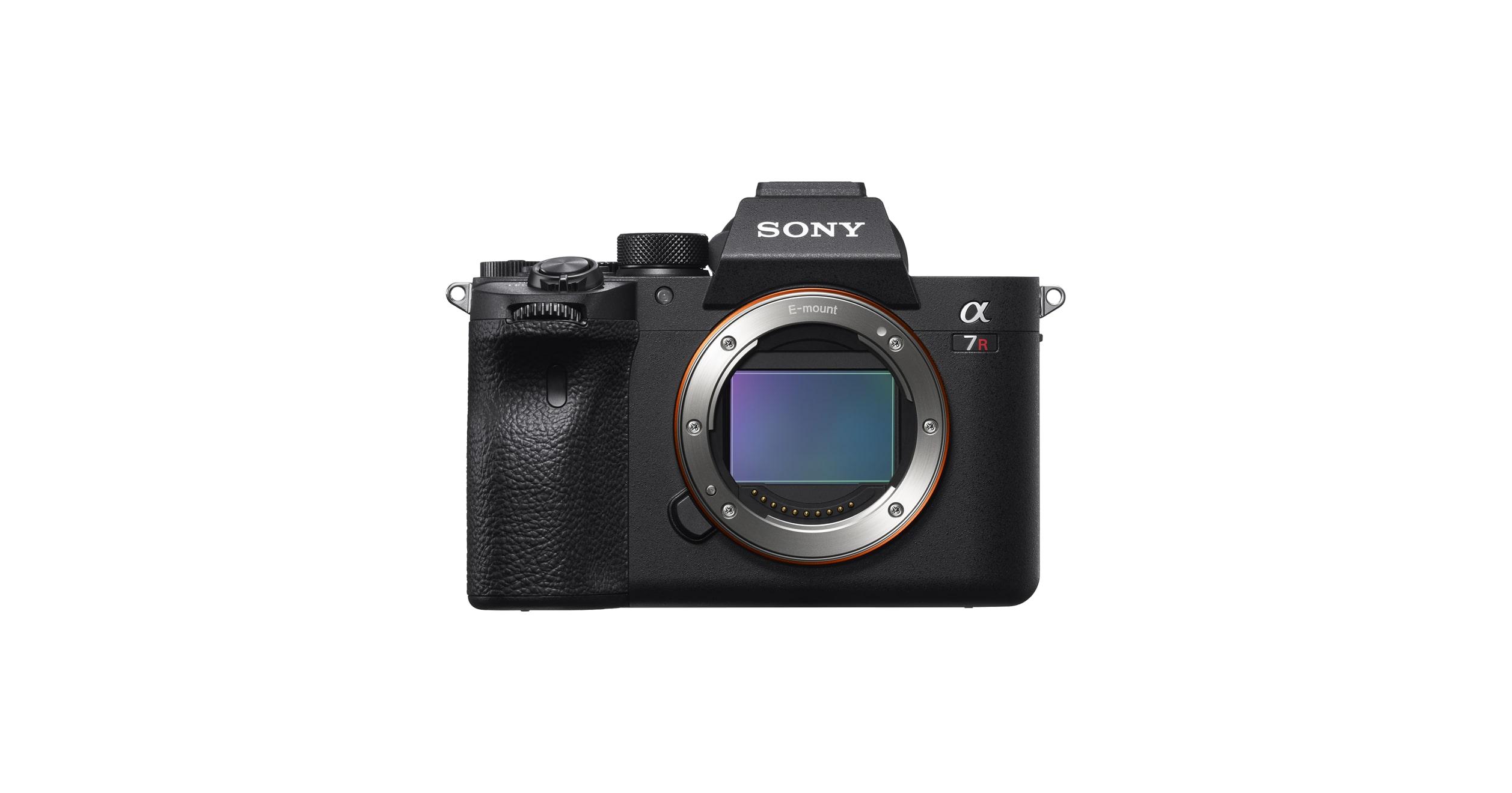 α7R IV 35mm full-frame camera with 61 0MP   ILCE-7RM4   Sony UK