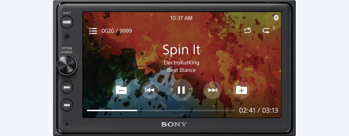 Android Double Din Av Receiver With Bluetooth Xav Ax100 Sony Uk