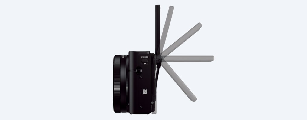 Images of RX100 III Advanced Camera with 1.0-type sensor