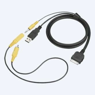 Picture of RC-202IPV USB/Video Connector for iPod/iPhone