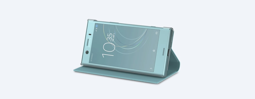 Images of Xperia XZ1 Compact Style Cover Stand SCSG60