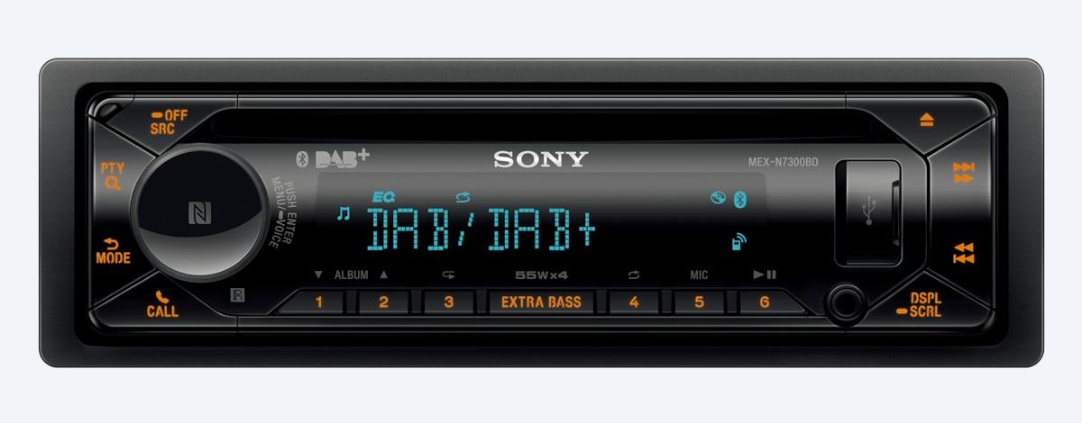 Sony MEX-N7300BD CD Dual Bluetooth DAB Digital Radio USB AUX iPhone Car Stereo