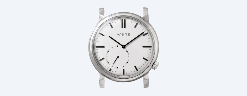 Images of wena wrist Three Hands Retro head