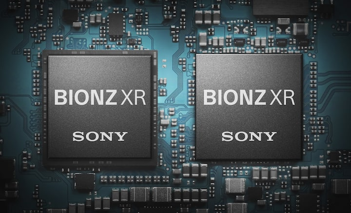 Up to 8x more powerful BIONZ XR image processor